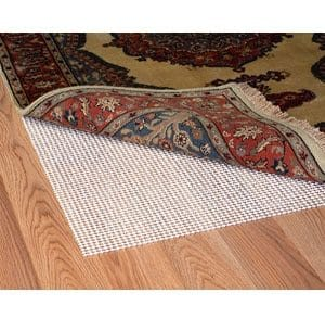 if you have hardwood flooring at home it is best to use a pad to prevent your rug from moving all over the place or causing an injury due to slippage