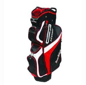You can get just what you need from this spacious golf cart bag with a  14-way divider top and easy-lift molded handles for ease in carrying. 2d968914cc0c3