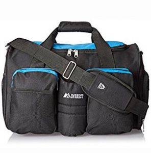 Another quality gym bag that offers a good value for your money is this  product from Everest. You will love its roomy main compartment with a  zipper closure ... 61cec5b8d5