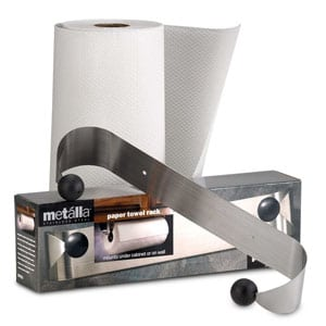 prodyne m913 stainless steel under cabinet paper towel holder