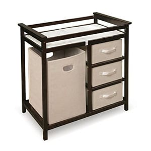 Give Your Baby A Comfortable And Enjoyable Time During Diaper Changes By  Using This Changing Table. It Has Everything You Need To Make Diaper  Changing ...