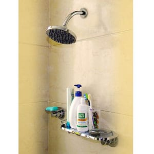 Set Up This Shower Caddy In Your Bathroom Without Having To Drill Anything No Embly