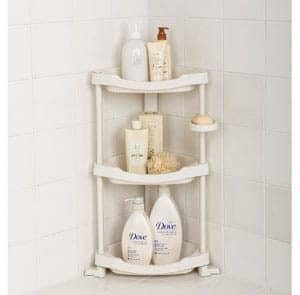 Tenby Living 3 Shelf Corner Shower Caddy