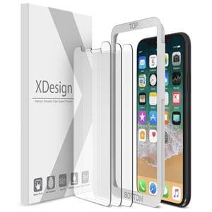 online retailer 24495 46aa8 Top 10 Best iPhone X Screen Protectors in 2019 Reviews - TenBestProduct