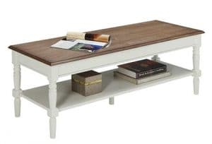 Top Best Coffee Tables In Reviews TenBestProduct - Convenience concepts french country coffee table