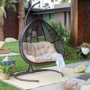 Top 10 Best Outdoor Wicker Swing Chair With Stand In 2019 Reviews