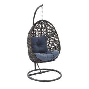 Wicker swinging chairs
