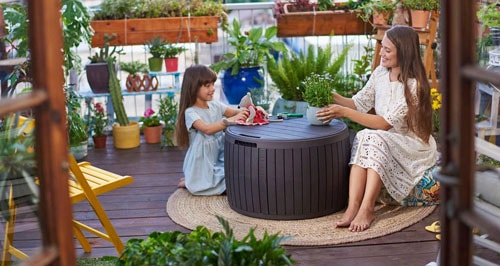 Remarkable Top 10 Best Outdoor Storage Bench Seating In 2019 Reviews Machost Co Dining Chair Design Ideas Machostcouk