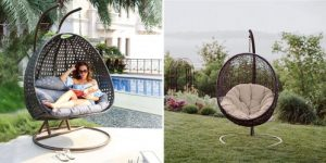 Top 10 Best Outdoor Wicker Swing Chair With Stand in 2020 Reviews
