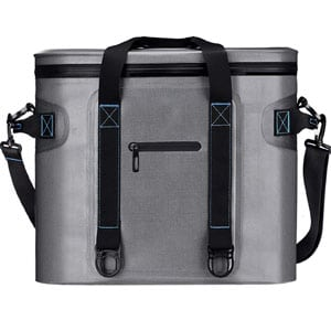 Keep your food and beverages cold or warm longer in this well-made soft  cooler bag from Homitt. It comes with a closed-cell triple-layer  insulation 2d4c8823c2597