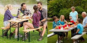 Top 10 Best Picnic Tables in 2019 Reviews